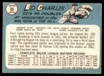 1965 Topps #35  Ed Charles  Back Thumbnail