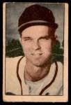 1952 Berk Ross  Johnny Sain  Front Thumbnail