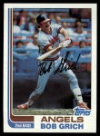 1982 Topps #284  Bobby Grich  Front Thumbnail