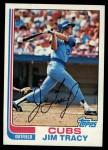 1982 Topps #403  Jim Tracy  Front Thumbnail