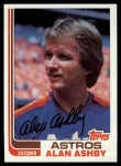 1982 Topps #433  Alan Ashby  Front Thumbnail