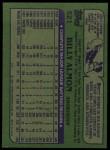 1982 Topps #521  Bill Almon  Back Thumbnail