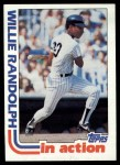 1982 Topps #570   -  Willie Randolph In Action Front Thumbnail