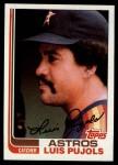1982 Topps #582  Luis Pujols  Front Thumbnail