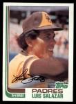 1982 Topps #662  Luis Salazar  Front Thumbnail