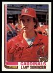 1982 Topps #689  Larry Sorenson  Front Thumbnail