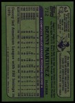 1982 Topps #712  Dennis Martinez  Back Thumbnail