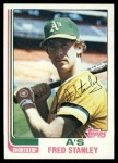 1982 Topps #787  Fred Stanley  Front Thumbnail