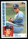 1984 Topps #349  Bob Gibson  Front Thumbnail