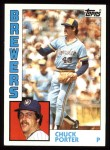 1984 Topps #452  Chuck Porter  Front Thumbnail