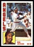 1984 Topps #548  Ron Jackson  Front Thumbnail