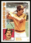 1984 Topps #571  Bruce Bochy  Front Thumbnail