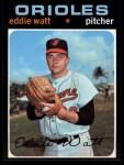 1971 Topps #122  Eddie Watt  Front Thumbnail
