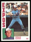 1984 Topps #749  Doug Flynn  Front Thumbnail