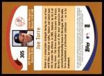 2002 Topps #305  Joe Torre  Back Thumbnail