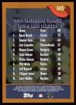 2002 Topps #345   -  Bonds / Sosa / L.Gonz League Leaders Back Thumbnail