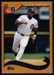2002 Topps #502  Wendell Magee  Front Thumbnail