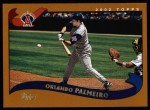 2002 Topps #521  Orlando Palmeiro  Front Thumbnail