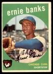 1959 Topps #350  Ernie Banks  Front Thumbnail