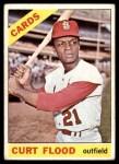 1966 Topps #60  Curt Flood  Front Thumbnail