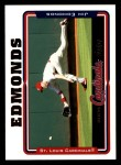 2005 Topps #17  Jim Edmonds  Front Thumbnail