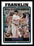2005 Topps #67  Ryan Franklin  Front Thumbnail