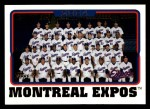 2005 Topps #655   Montreal Expos Team Front Thumbnail