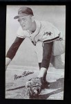1962 Exhibits Stat Back  Norm Siebern  Front Thumbnail