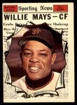 1961 Topps #579   -  Willie Mays All-Star Front Thumbnail