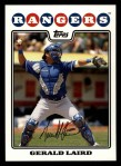 2008 Topps #148  Gerald Laird  Front Thumbnail