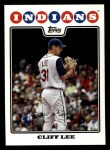 2008 Topps #317  Cliff Lee  Front Thumbnail