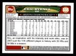 2008 Topps #335  Eric Byrnes  Back Thumbnail