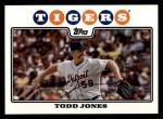 2008 Topps #484  Todd Jones  Front Thumbnail