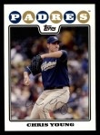 2008 Topps #55  Chris Young  Front Thumbnail