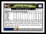 2008 Topps #441  Miguel Olivo  Back Thumbnail
