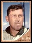 1962 Topps #453  Cal McLish  Front Thumbnail