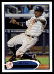2012 Topps #290  Curtis Granderson  Front Thumbnail