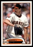 2012 Topps #420  Barry Zito  Front Thumbnail