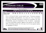 2012 Topps #460  Thomas Field  Back Thumbnail