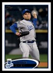 2012 Topps #647  Bruce Chen  Front Thumbnail