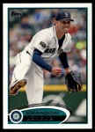 2012 Topps #378  Brandon League  Front Thumbnail