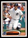 2012 Topps #644  Andy Dirks  Front Thumbnail