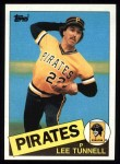 1985 Topps #21  Lee Tunnell  Front Thumbnail