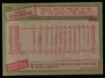 1985 Topps #74  Mike Krukow  Back Thumbnail