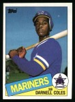 1985 Topps #108  Darnell Coles  Front Thumbnail