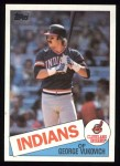 1985 Topps #212  George Vuckovich  Front Thumbnail