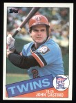 1985 Topps #452  John Castino  Front Thumbnail