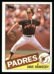 1985 Topps #530  Dave Dravecky  Front Thumbnail