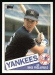 1985 Topps #638  Mike Pagliarulo  Front Thumbnail