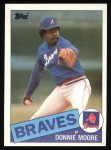 1985 Topps #699  Donnie Moore  Front Thumbnail
